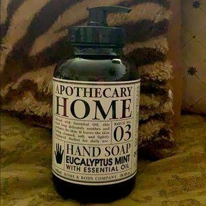 APOTHECARY Home  Eucalyptus Mint Hand soap